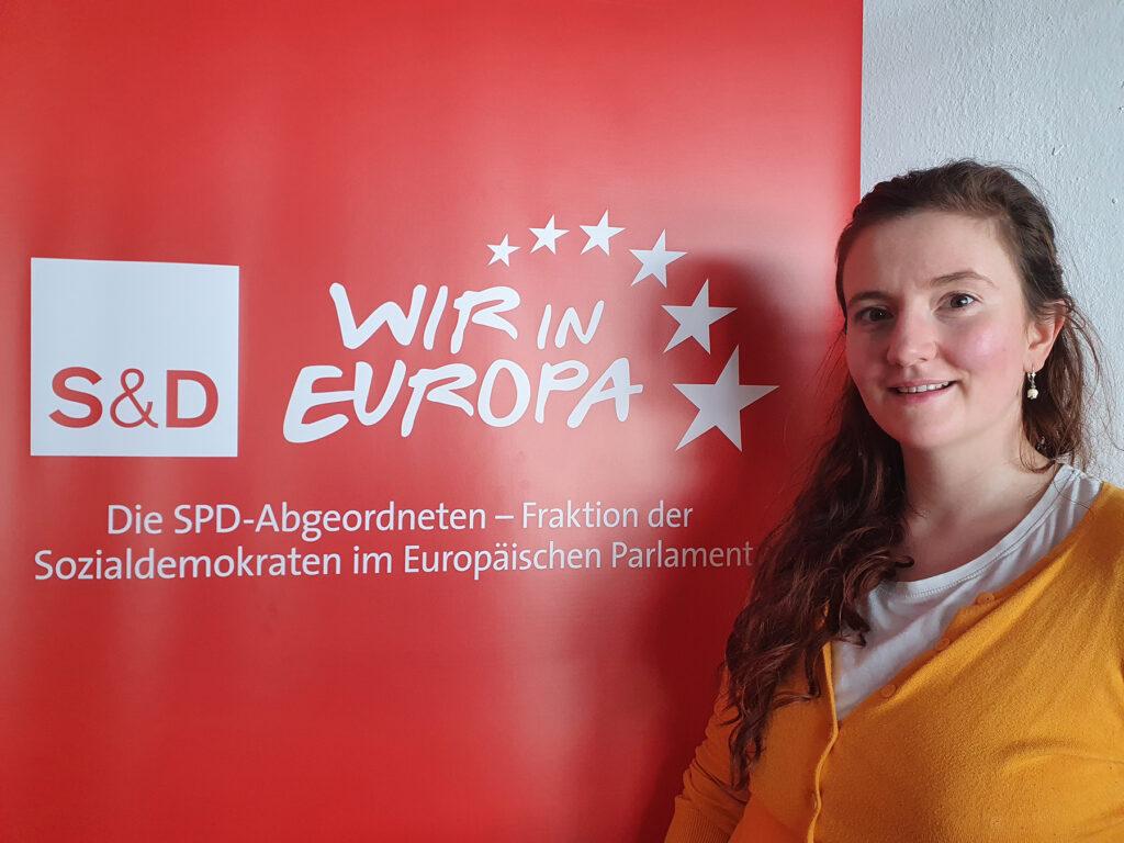 Marie Glißmann, Ansprechpartnerin im Regionalbüro
